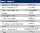 Imagen de Elevador 4 columnas 3600 Kgs