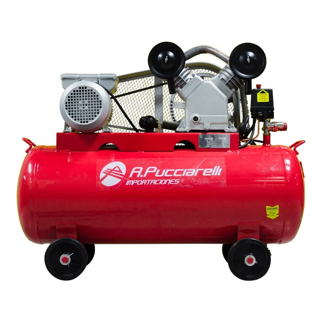 Imagen de Compresor De Aire 200 Litros 5.5 Hp Trifásico