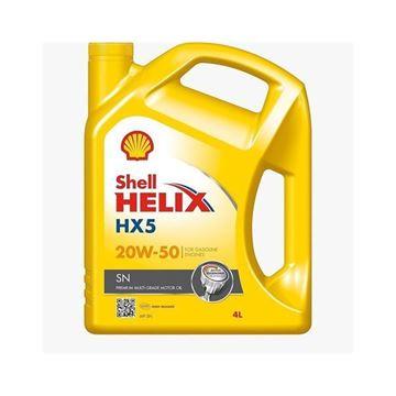 Imagen de SHELL HELIX HX5 SN 20W-50 4L