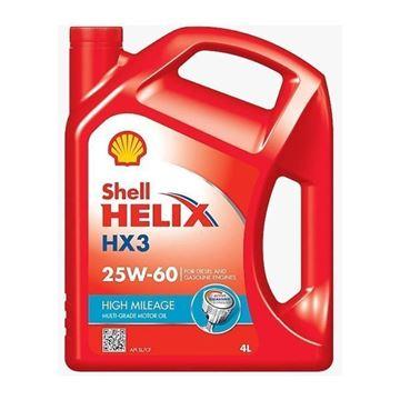 Imagen de SHELL HELIX HX3 HM 25W60 4L