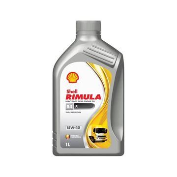 Imagen de SHELL RIMULA R4 X 15W40 1L